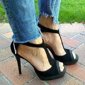 Steve Madden platform T-strap heels